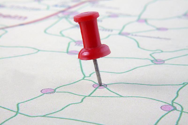 Pin auf Karte