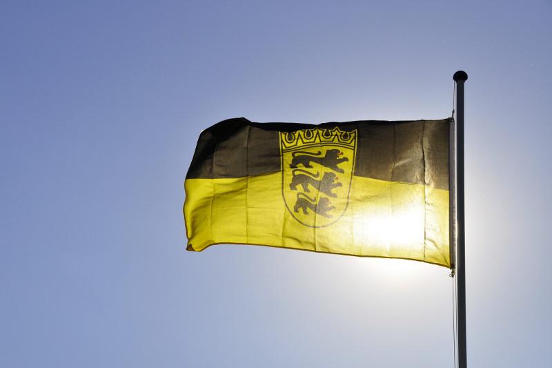 Flagge Baden-Württembergs