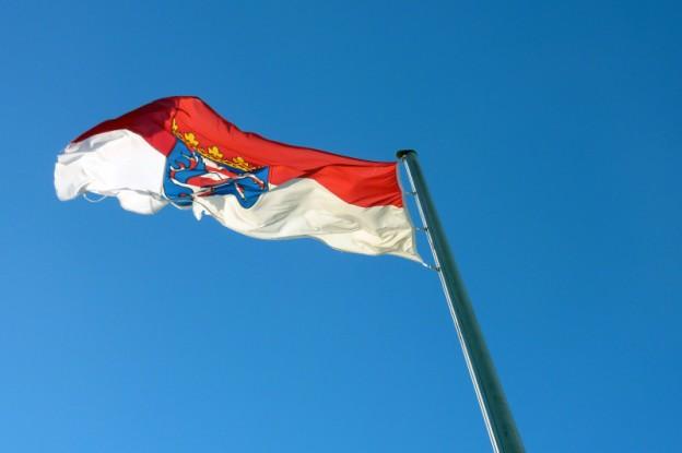 Flagge Hessens